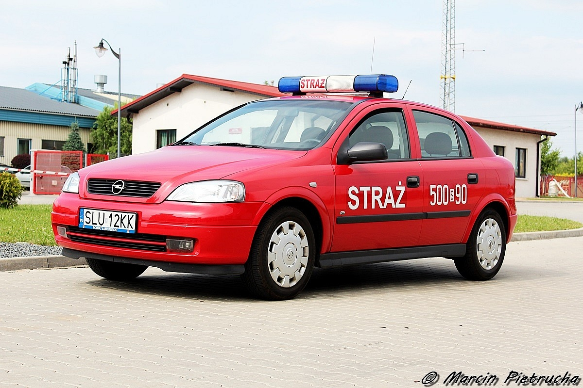 500[S]90 - SLOp - Opel Astra II - KP PSP Lubliniec