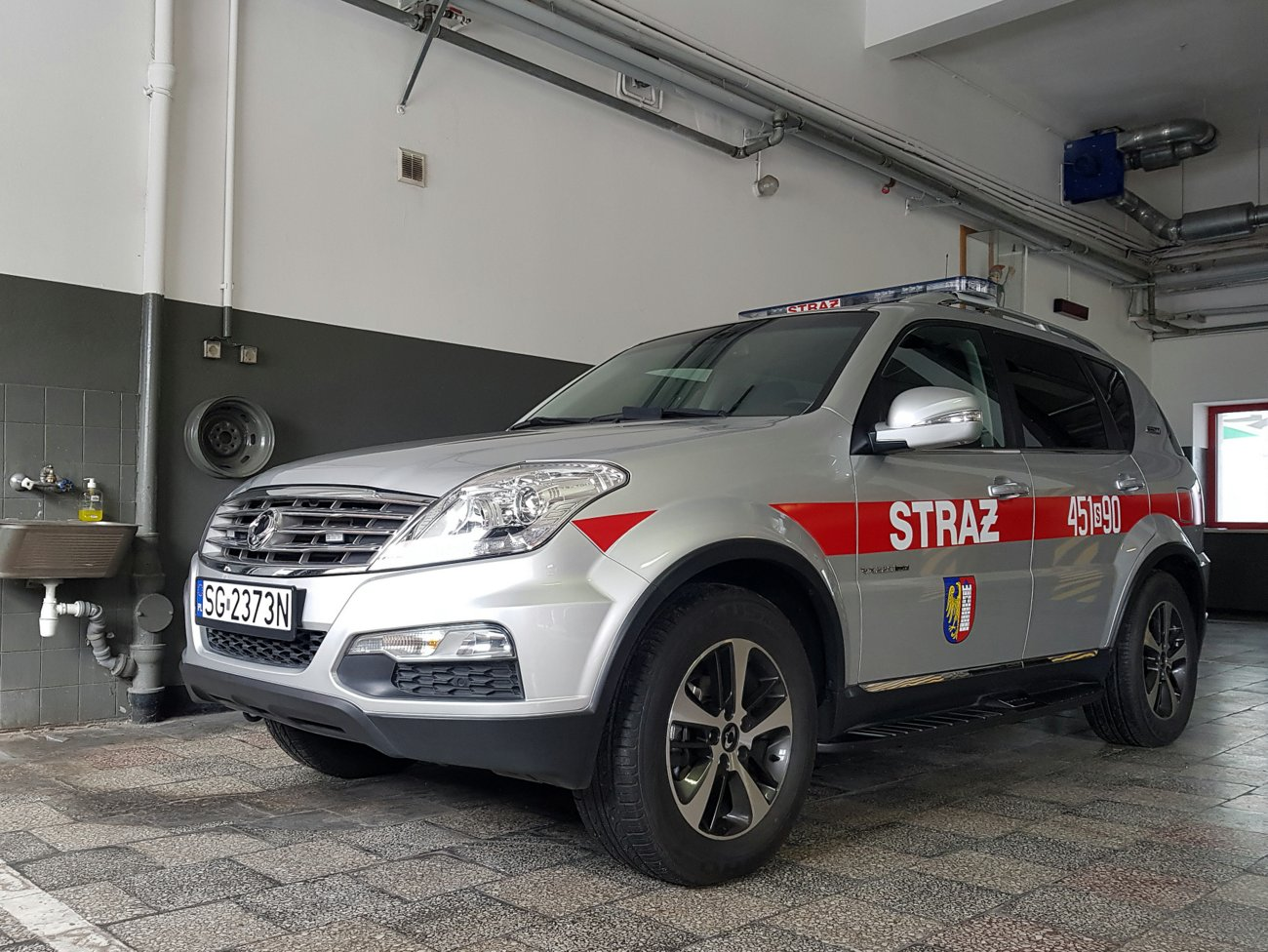 451[S]90 - SLOp SsangYong REXTON – JRG 1 Gliwice